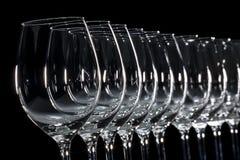 Glasweißwein Lizenzfreies Stockbild