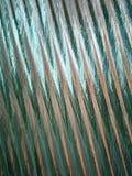 Glaswellenwand Stockfoto