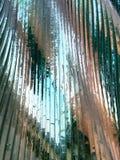Glaswellenwand Lizenzfreie Stockfotografie