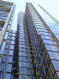 Glaswolkenkratzer Stockfotos