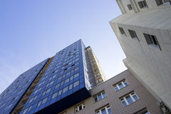 Glaswolkenkratzer Stockfoto