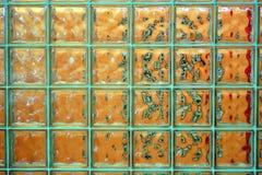 Glasziegelstein - tranlucent Glaswand Lizenzfreies Stockbild