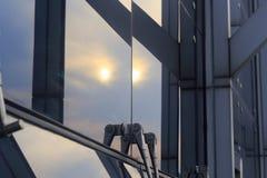 Glaszwischenwand stockfotos