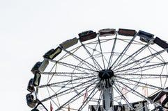 Glat går rundan på mest octoberfest Fotografering för Bildbyråer