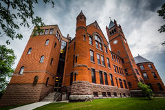 Glatfelter Hall, on the campus of Gettysburg College, in Gettysb Stock Images