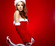 Glatt julbegrepp Arkivbilder