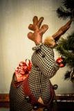 Glatt julhälsningskort Royaltyfri Fotografi