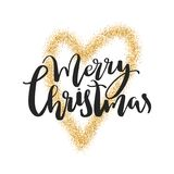 Glatt märka för jul Julkalligrafi letters amerikansk för färgexplosionen för kortet 3d ferie för hälsningen för flaggan nationalf vektor illustrationer