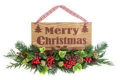 glatt tecken för jul royaltyfria bilder