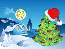 glatt tema för 4 jul royaltyfri illustrationer