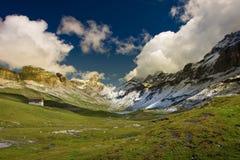 Glattalp, Zwitserland Royalty-vrije Stock Foto's