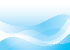 Glatte Ozeanwelle Stockfotos