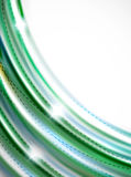 Glatte Welle, coporate Geschäftsbroschüren-Identitätsdesign Lizenzfreies Stockbild