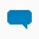 Glatte Wolkenblase des Pixels Lizenzfreies Stockfoto