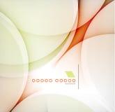 Glatter Farbwellen-Zusammenfassungshintergrund Stockfoto