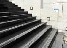 Glatter Fußboden der Achtung Stockbild