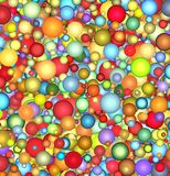 glatter sich hin- und herbewegender Hintergrund der Luftblase 3d Lizenzfreie Stockfotografie