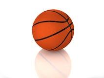 glatter Standardbasketball 3D stockbild