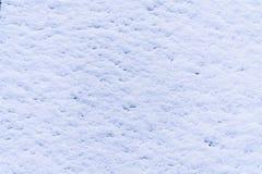 Glatter struktureller weißer reiner Schnee als Weihnachtshintergrund stockbild