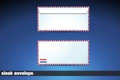 Glatter Umschlag Lizenzfreie Stockfotos