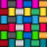 Glattes Farbmosaikmuster Lizenzfreie Stockfotos