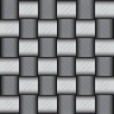 Glattes metallisches Mosaikmuster Lizenzfreie Stockbilder