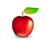 Glattes rotes Apple Lizenzfreie Stockfotografie