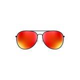 Glattes Vektorflieger-Sonnenbrilledesign stock abbildung