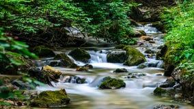 Glattes Wasser Stockfotografie