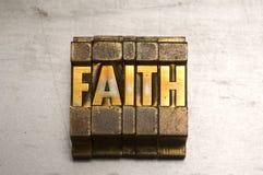 Glaube Stockbild