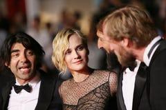 Glaube entsprechend, Diane Kruger, Numan Acar Lizenzfreie Stockfotografie