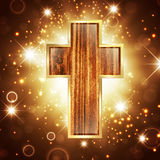Glaube im Gott lizenzfreie abbildung