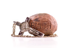 Glaube im Lord stockfoto