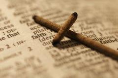 Glaube und das quer- Archivbild Lizenzfreies Stockbild