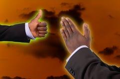 Glaube und Ermutigung Stockfoto