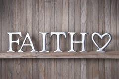 Glauben-Liebes-Christentums-Hintergrund stockfotos