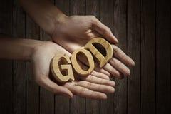 Glauben Sie an Gott Lizenzfreie Stockfotografie