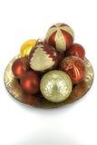 Glaubes brillantes de la decoración de la Navidad Fotos de archivo