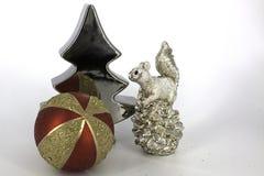 Glaubes brillantes de la decoración de la Navidad Imagen de archivo