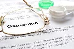 glaucoma Fotografía de archivo