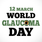 Glaucoma Day Royalty Free Stock Images