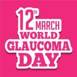 Glaucoma Day Stock Photos