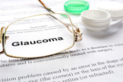 Glaucoma Stock Photography