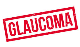 Glaucoma rubber stamp Royalty Free Stock Images