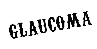 Glaucoma rubber stamp Royalty Free Stock Image