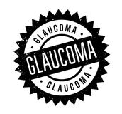 Glaucoma rubber stamp Stock Photo
