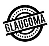 Glaucoma rubber stamp Stock Image