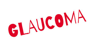 Glaucoma rubber stamp Royalty Free Stock Photography