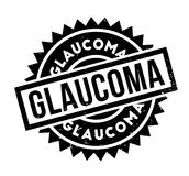 Glaucoma rubber stamp Stock Images