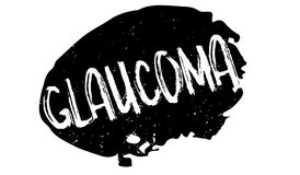 Glaucoma rubber stamp Royalty Free Stock Photo
